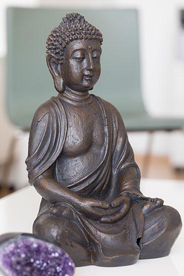 Bhudda Symbolfoto für Entspannungsmethoden in der Praxis Trautmann